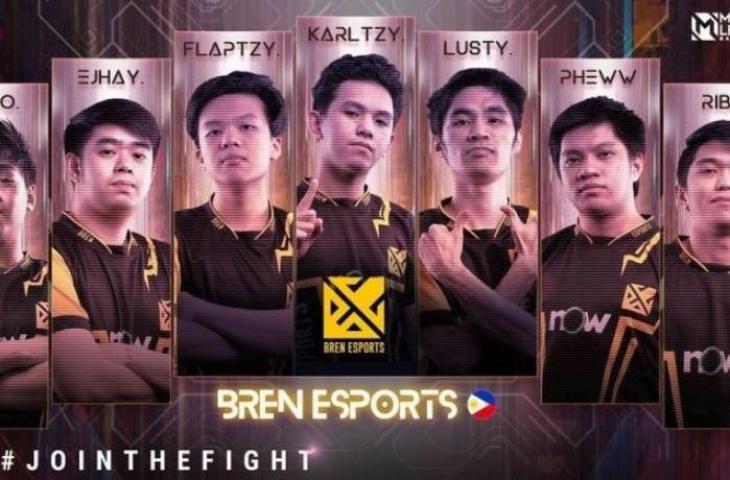 Roster Bren Esports di M2 World Championship. (instagram/ mpl.id.official)
