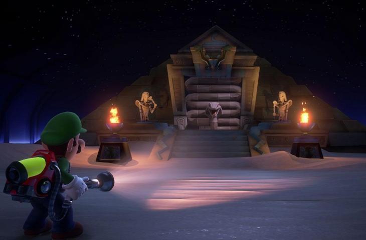Luigi's Mansion 3. (Nintendo)