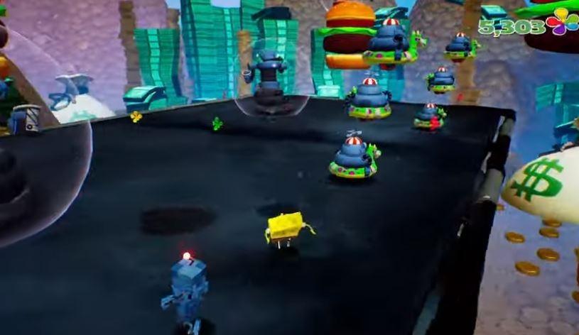 Teaser game mobile SpongeBob SquarePants Battle for Bikini Bottom. (YouTube/ HandyGames)