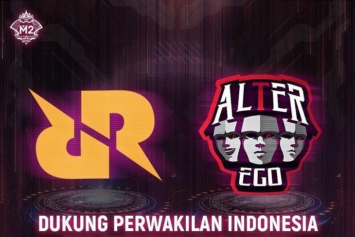 Dua wakil Indonesia di M2 World Championship. (Instragram/ mpl.id.official)