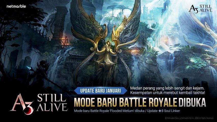 A3: STILL ALIVE dapatkan mode battle royale. (Netmarble)