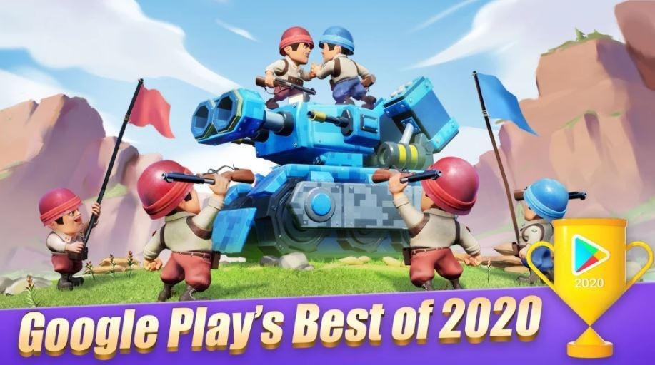 Top War Battle Game. (Play Store)