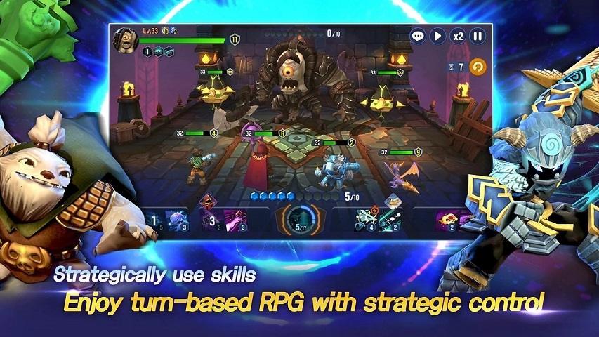 Skylanders Ring of Heroes. (Google Play Store)