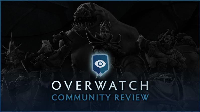 Sistem Overwatch pada Dota 2. (blog.dota2.com)