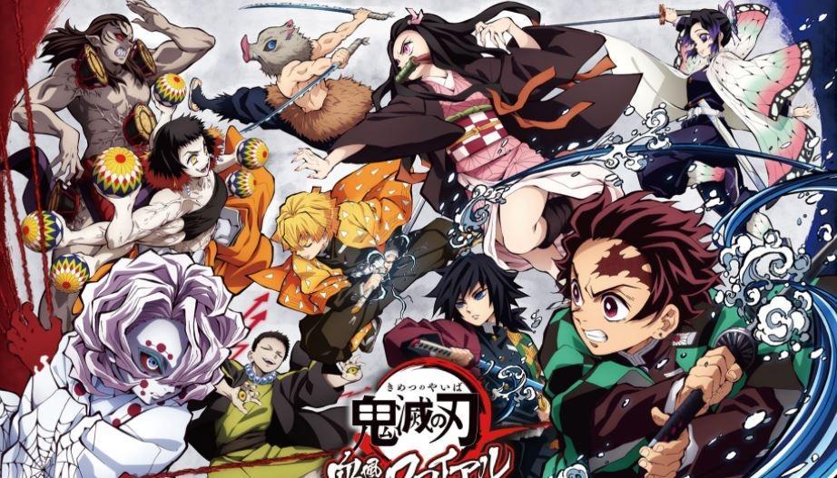 Karakter di Kimetsu no Yaiba. (Kimetsu.com)