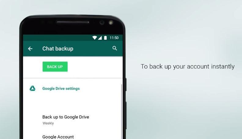 Backup WhatsApp. (YouTube/ WhatsApp)
