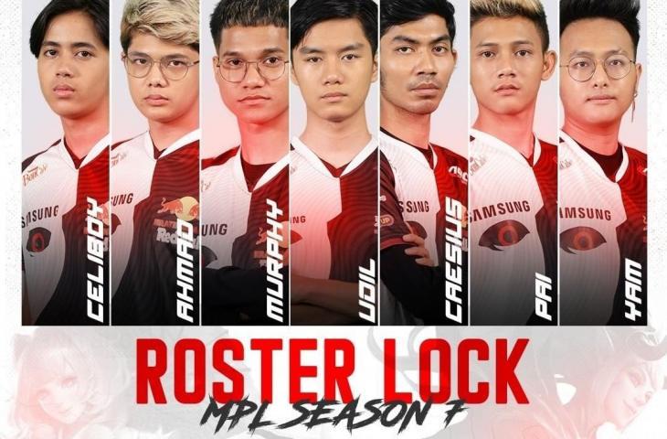 Roster Alter Ego untuk MPL Indonesia Season 7. (instagram/alteregoesports)