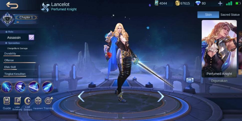 Lancelot Mobile Legends. (HiTekno)