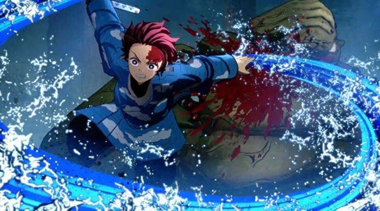 Karakter Tanjiro di Demon Slayer Kimetsu no Yaiba. (Gematsu)