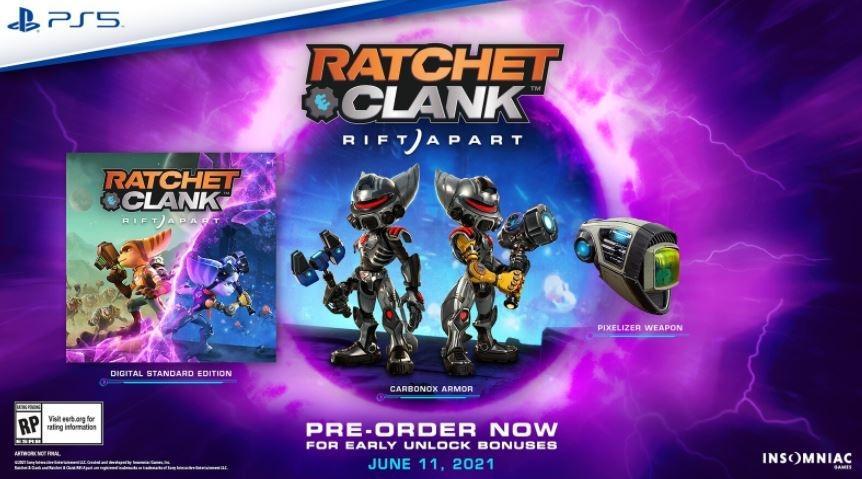 Ratchet & Clank Rift Apart. (blog.playstation.com)