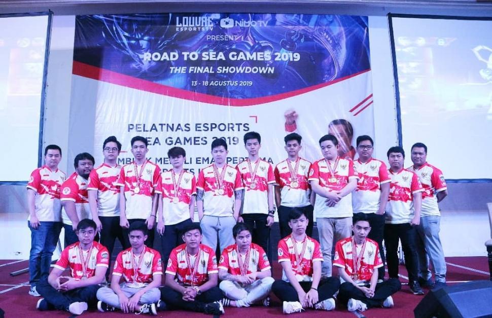 Atlet Esports untuk SEA Games 2019. (instagram/iespaorg)