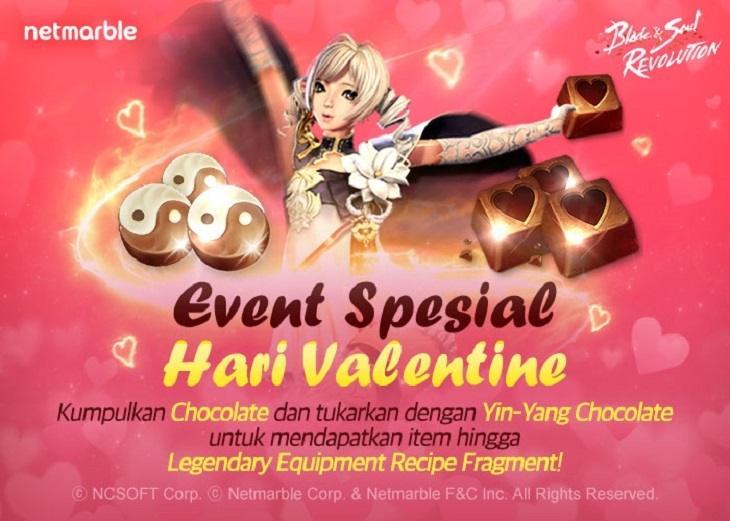 Blade&Soul Revolution Rayakan Hari Valentine dengan Beragam Event & Reward. (Netmarble)