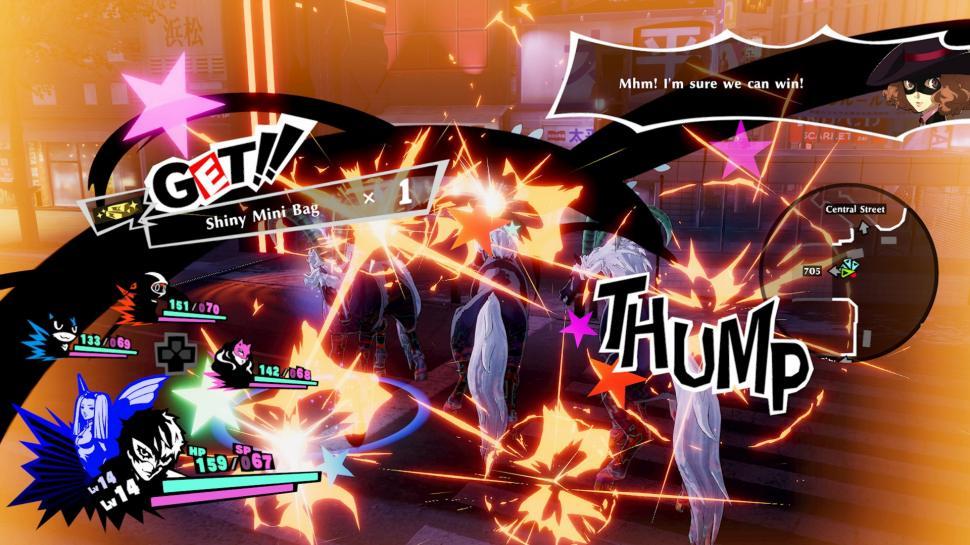 Persona 5 Strikers. (Steam)