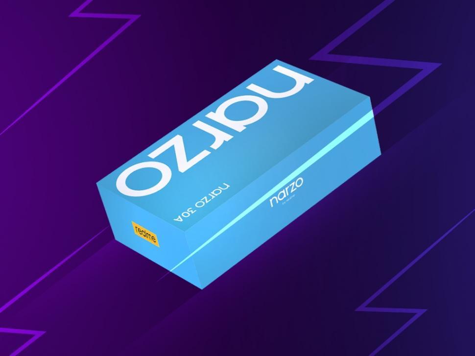 Kotak baru realme narzo 30A. (realme)