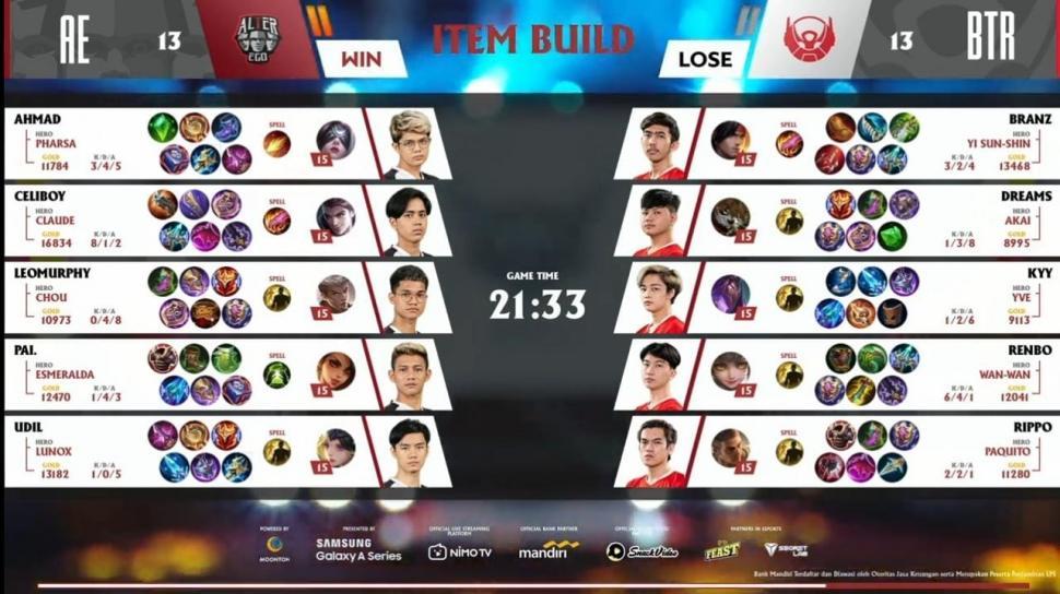Game kedua Alter Ego vs Bigetron Alpha. (youtube/MPL Indonesia)