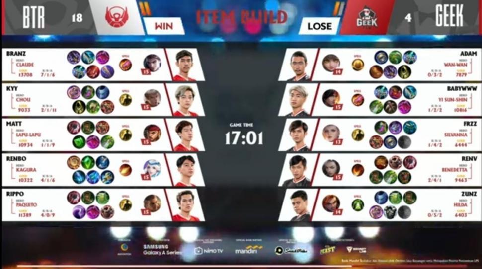 Game ketiga Bigetron Alpha vs Geek Fam. (youtube/MPL Indonesia)