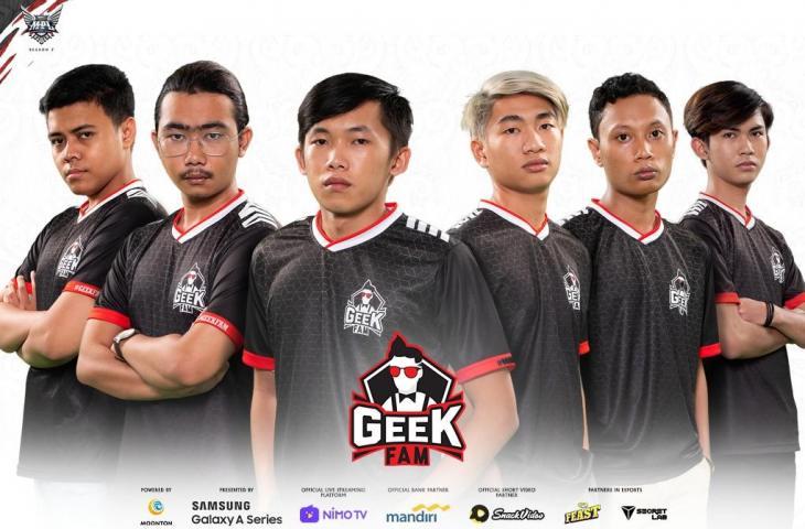 Roster Geek Fam MPL Season 7. (Dok MPL Indonesia)