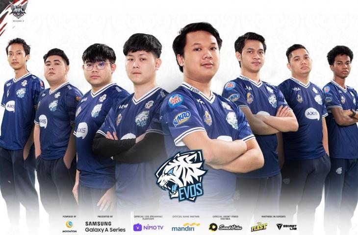Roster EVOS Legends MPL Season 7. (Dok MPL Indonesia)