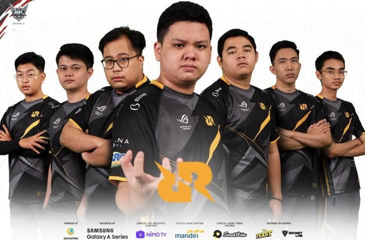 Roster RRQ Hoshi MPL Season 7. (Dok MPL Indonesia)
