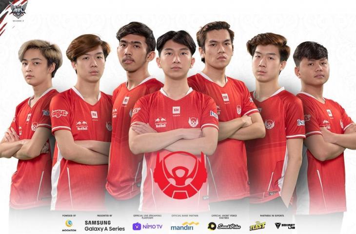 Roster Bigetron Alpha MPL Season 7. (Dok MPL Indonesia)
