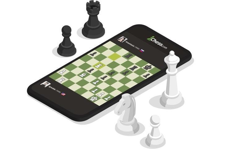 Game catur online Chess.com. (Chess.com)