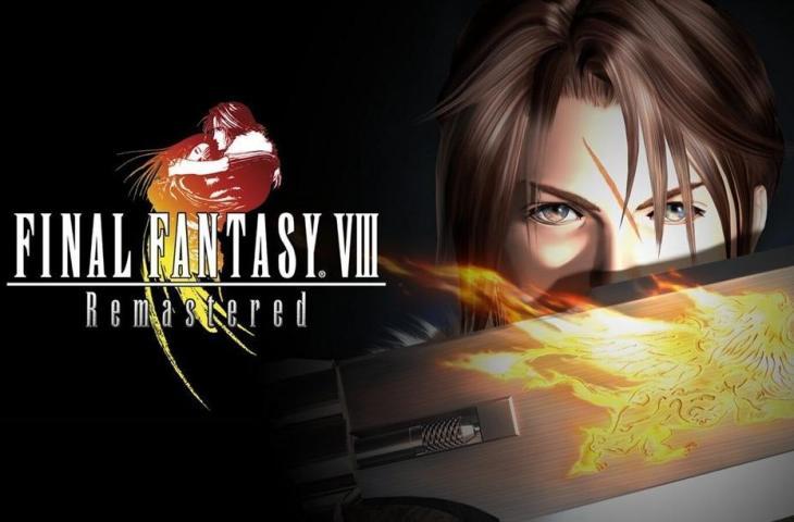 Final Fantasy VIII Remastered. (PlayStation)