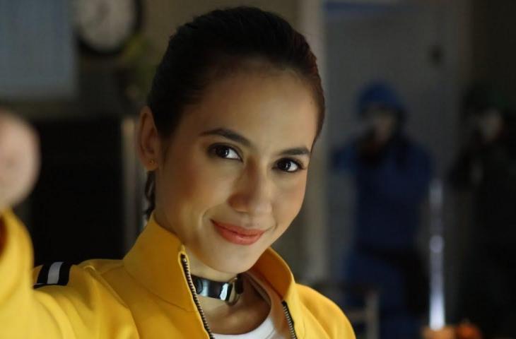 Pevita Pearce di iklan GoPay Indonesia. (YouTube/ GoPay Indonesia)