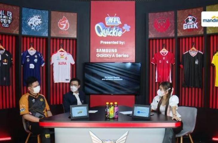 RRQ Albert saat di MPL Quickie. (YouTube/ MPL Indonesia)