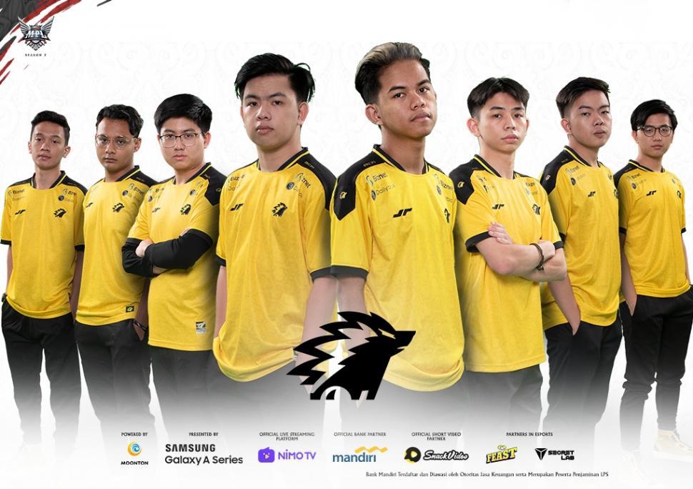Roster ONIC Esports MPL Season 7. (Dok MPL Indonesia)