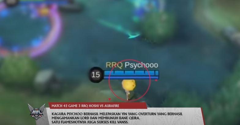 RRQ Psychoo masuk dalam Top 5 Play pekan keenam MPL Season 7. (YouTube/ MPL Indonesia)
