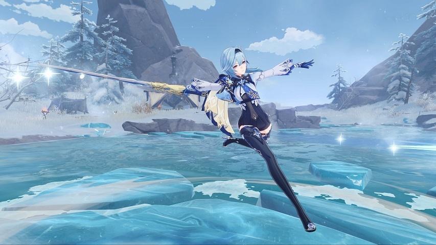 Eula karakter baru Genshin Impact update v1.5. (miHoYo)