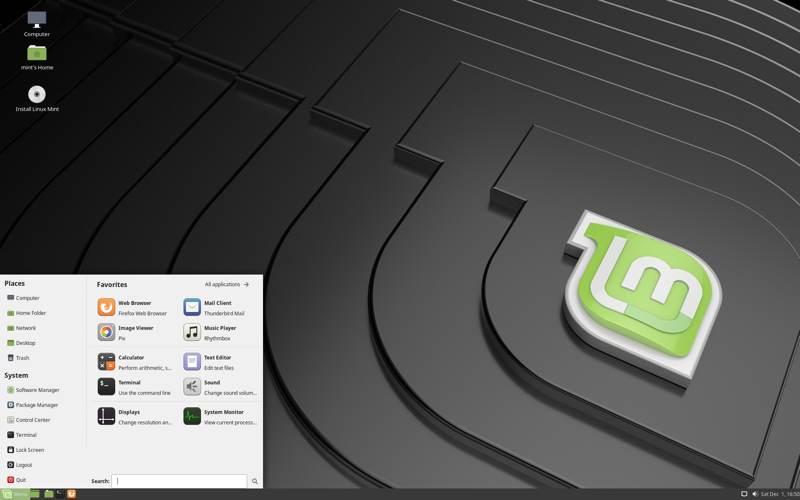 Desktop Linux Terbaik Untuk Layar Sentuh Cinnamon