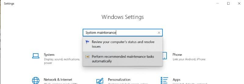 Pemeliharaan Sistem Windows Tidak Responsif