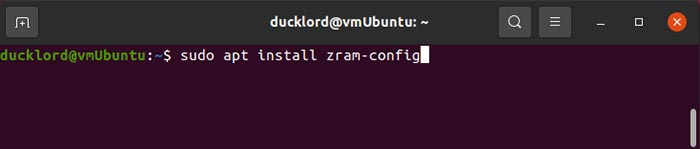 Mempercepat Instalasi Ubuntu Zram
