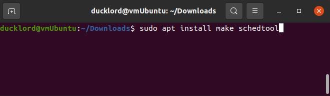 Mempercepat Instalasi Ubuntu Membuat Schedtool