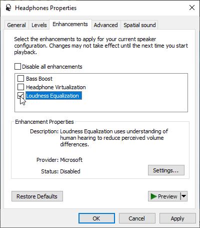 Pemerataan Peningkatan Windows