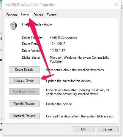 windows10-mikrofon-driver-update
