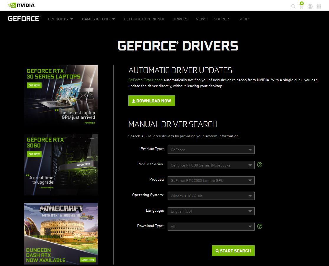 Manual Pembaruan Driver Nvidia