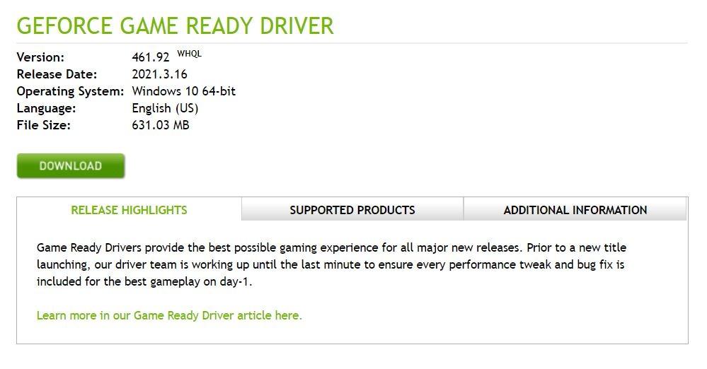 Pembaruan Driver Nvidia Terbaru