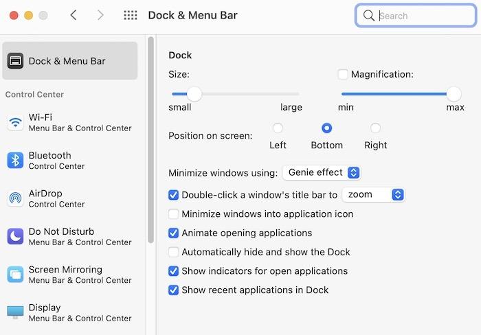 Mac Menjalankan Dock Fix Lambat