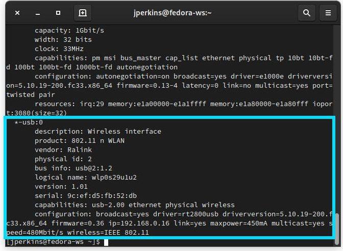 Wifi Linux Tidak Berfungsi Lshw