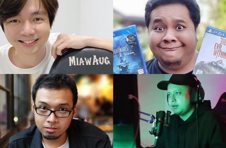 Youtuber Gaming Indonesia. (kolase HiTekno.com)