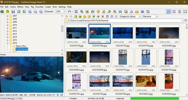 Faststone Alternatif Foto Windows 10