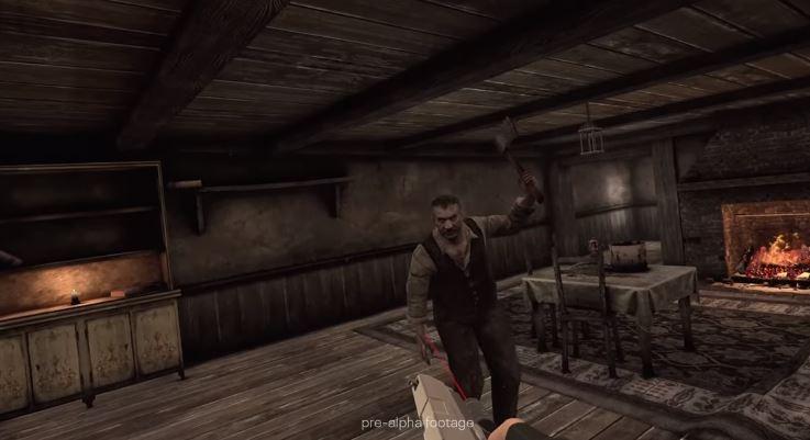 Gameplay Resident Evil VR. (YouTube/ Oculus)