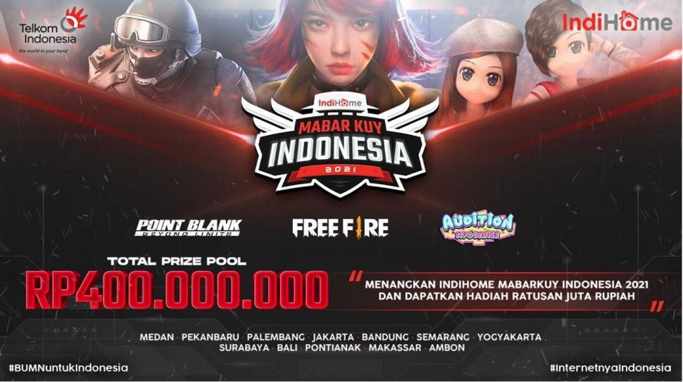 IndiHome MabarKuy Indonesia 2021. (UPoint)