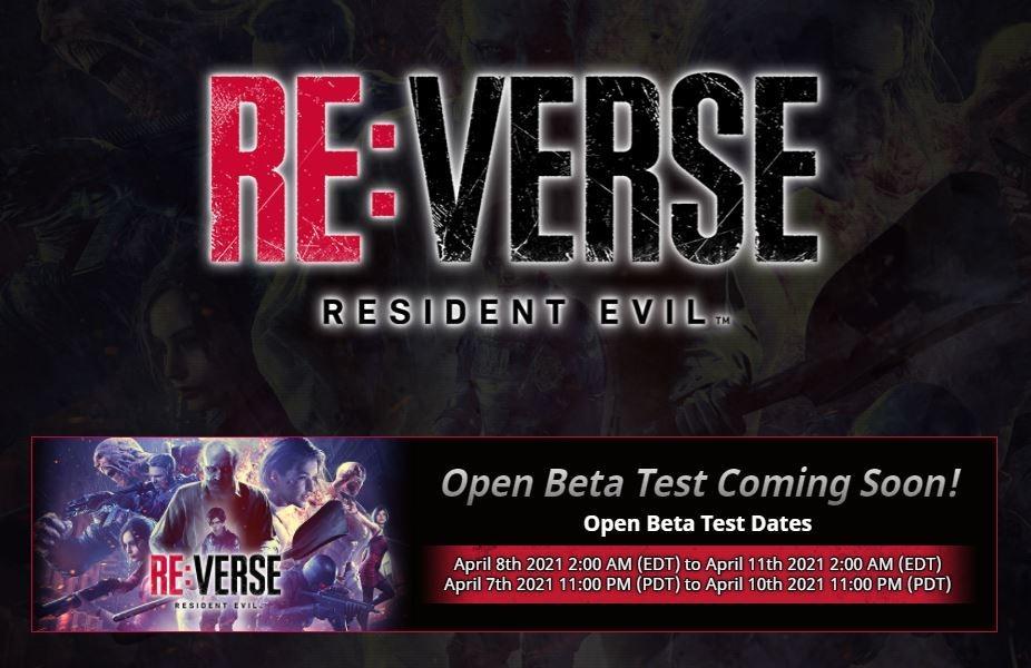 Open beta Resident Evil Reverse akan diadakan pada pekan ini. (Resident Evil)