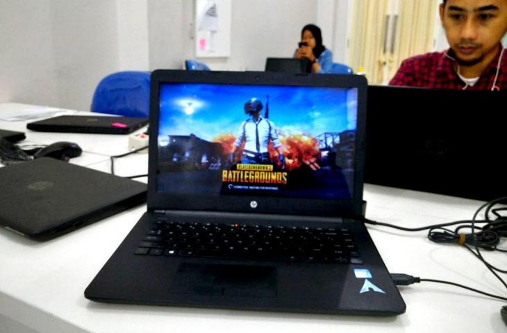 PUBG Lite di PC Kentang. (Hitekno.com/Agung Pratnyawan)