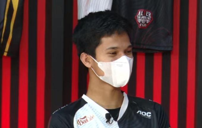 LeoMurphy saat hadir di MPL Quickie. (YouTube/ MPL Indonesia)
