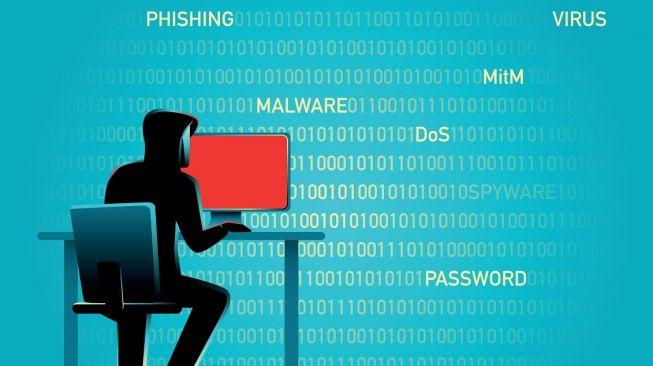 Ilustrasi phising. [Shutterstock]