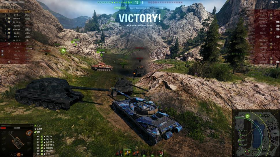 World of Tanks. (Wargaming)
